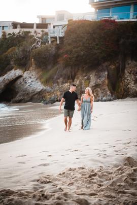 laguna beach california engagement photos