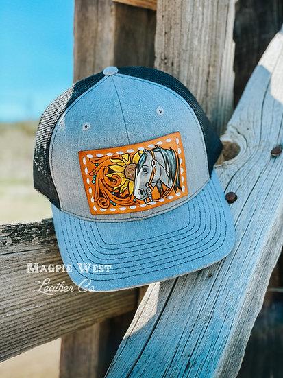 Trucker Hat Patch Pattern