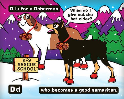 Doberman by Elle Bucko