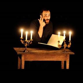 Les Caractères de La Bruyère - Concert lecture à la bougie mis en scène Benjamin Lazar