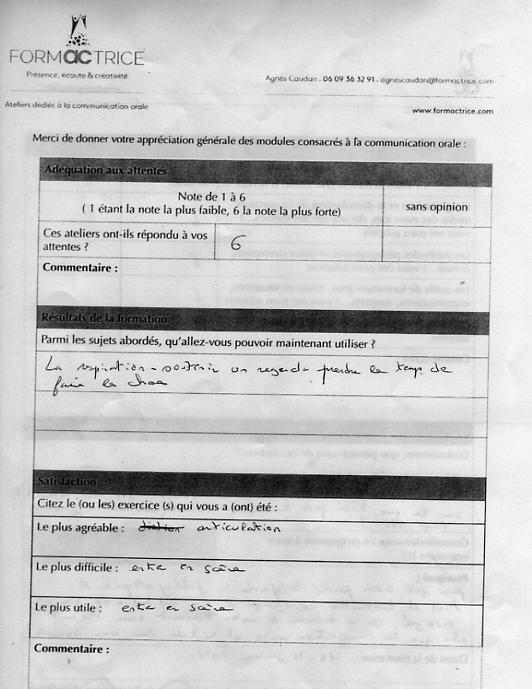 Evaluation G2 Janvier 2018 5_16