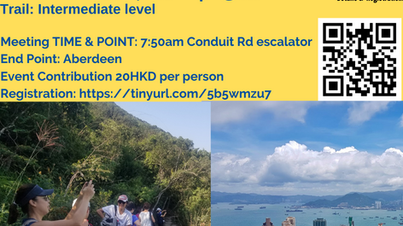 Day socially distance hike Peak to South @ Sun, 18 Apr 8am