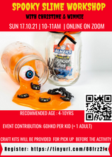 Hallow🧒🏼👦🏽n KIDS special: LocalH🧟♀️👻d Spooky Slime Workshop