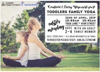 Toddler's FAMILY Yoga
