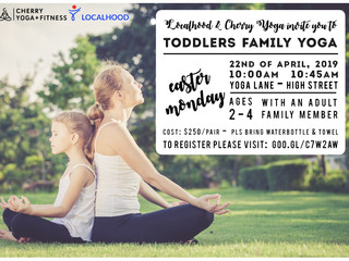 Toddler's FAMILY Yoga