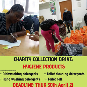 LocalHood & Refugee Union:  Neigbhours for Neighbours Hygiene Products Collection Drive (1Apr-30Apr)