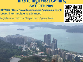 Hiking to High West @ Sat, 9th Nov
