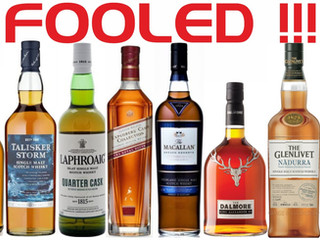 ARE YOU BEING FOOLED BY SCOTCH WHISKY ?