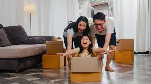 parents having fun with kids