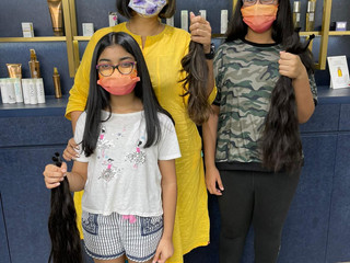 Donating Hair in Hong Kong: Hair today, wig (for those in need) tomorrow!