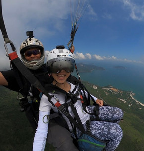 Doing x-treme sports in Hong Kong