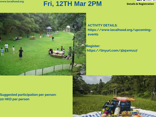 Hike 'n  Picnic @ Victoria Peak Garden@ Fri, 12 Mar 2pm