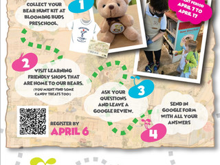 LocalHood & Blooming Buds Family Easter Hunt: 7th Apr- 17th Apr '21(inc)