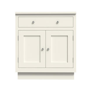 Double Door With Drawer Small
