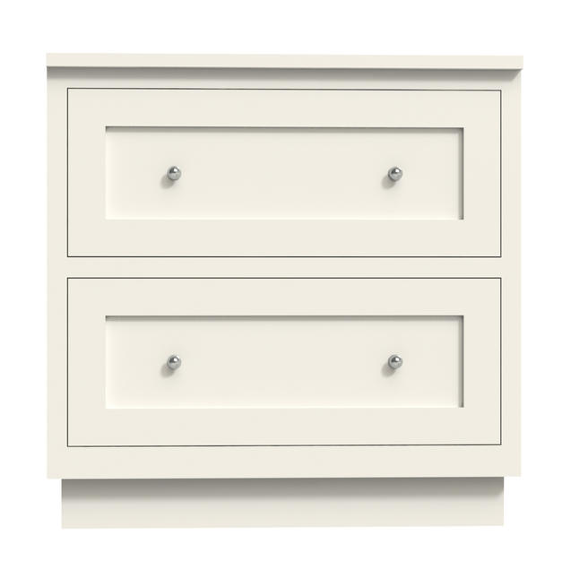 Two Drawers Large Cabinet