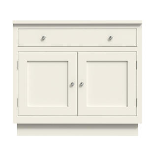 Double Door With Drawer Large