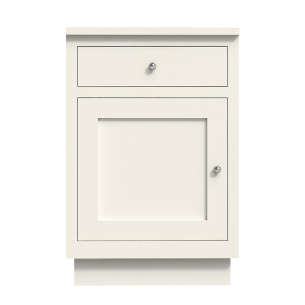 Single Door With Drawer Medium