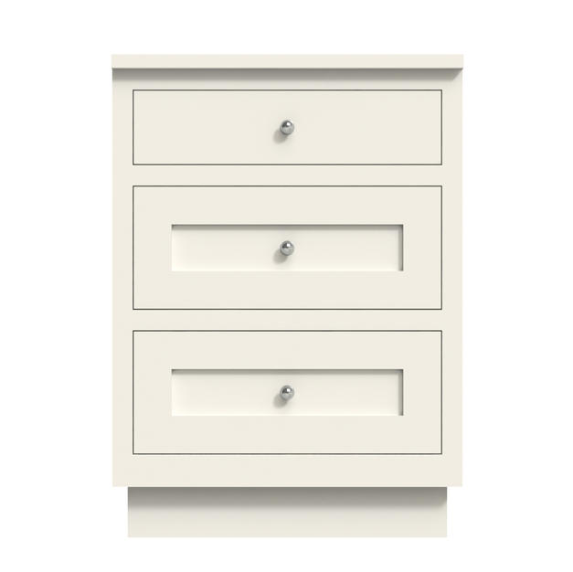 Three Drawers Medium Cabinet