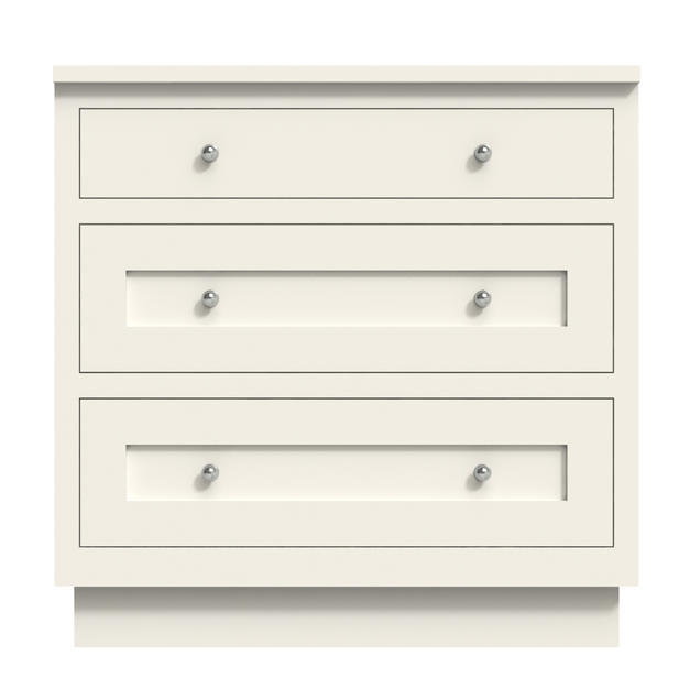 Three Drawers Large Cabinet