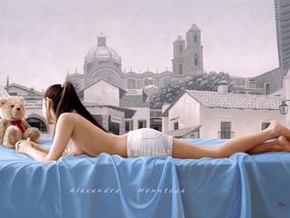 哥伦比亚艺术家 alexandre Monntoya