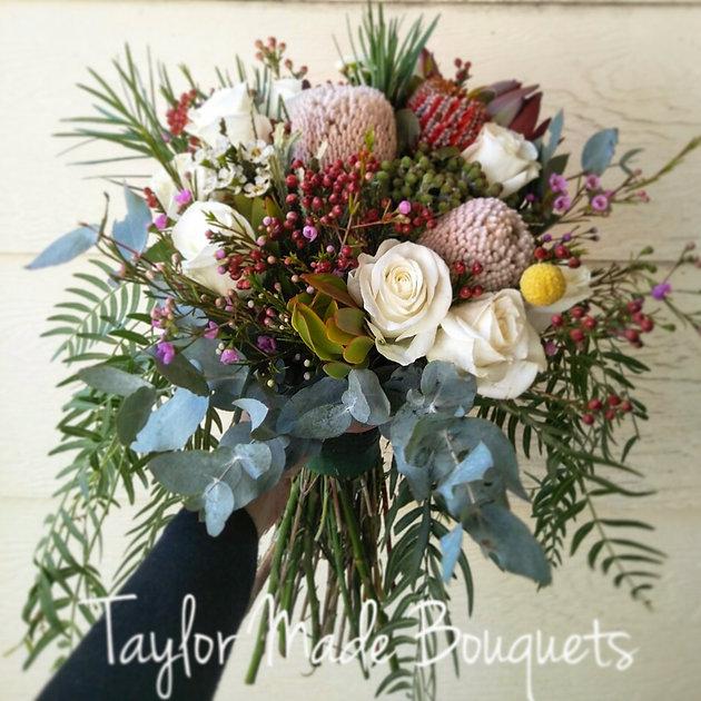 Cheap Wedding Flowers Sydney: Australian Native Bouquet