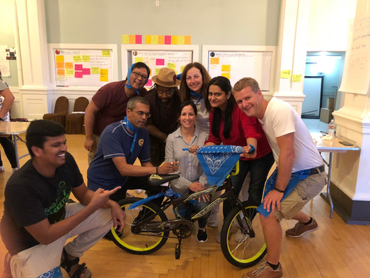 Building Bikes for Charity