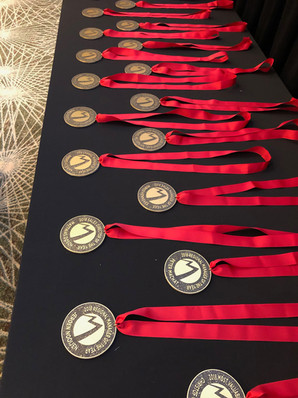 Winners Received Medals