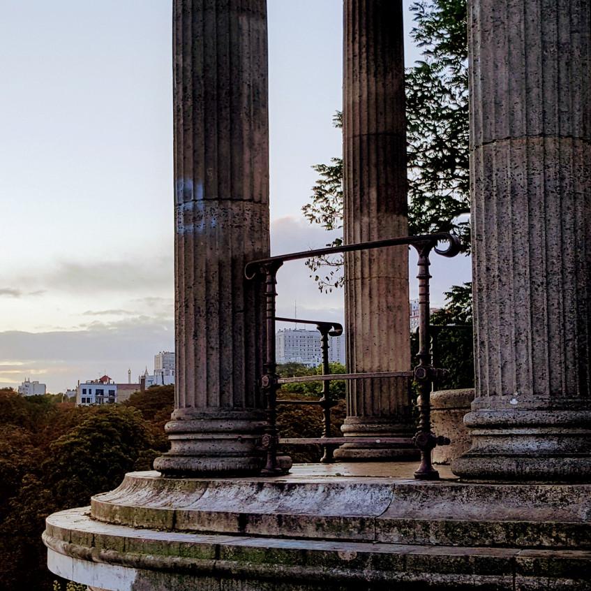 Pillars of dawn