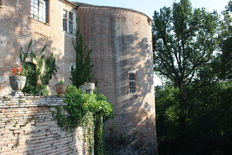 Chateau de Piquecos - right tower