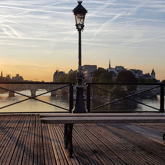 Pont des Arts in September