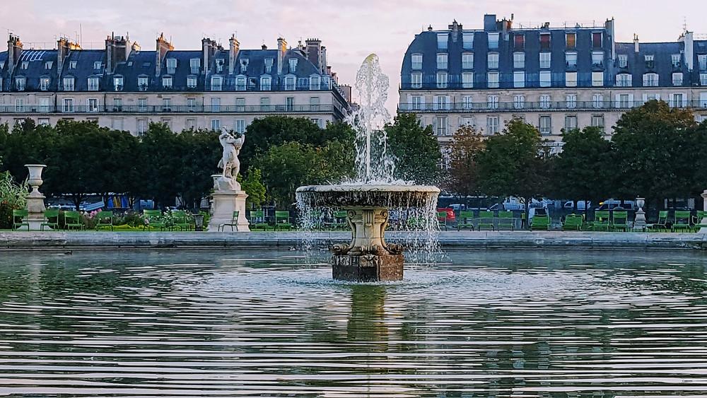 Tuileries at dawn