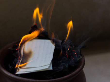 Burning Bowl/Letter to God 2021