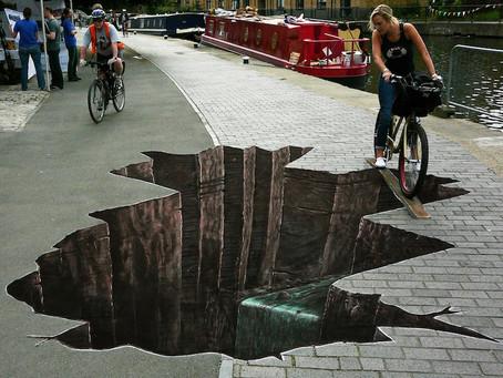 Holes In the Sidewalks of Life