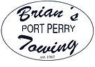 Brian's Towing Logo (White Backing with