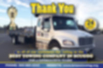 "Brians Towing ""Best Company in Scugog"""