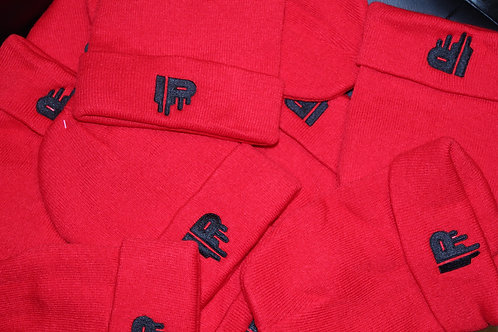 """Red Immaculate Posse """"IP"""" Beanies"""
