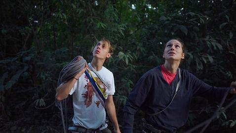 Rafi and Izzy, Climbing Giants