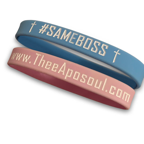 Two (2) Same Boss Wristbands
