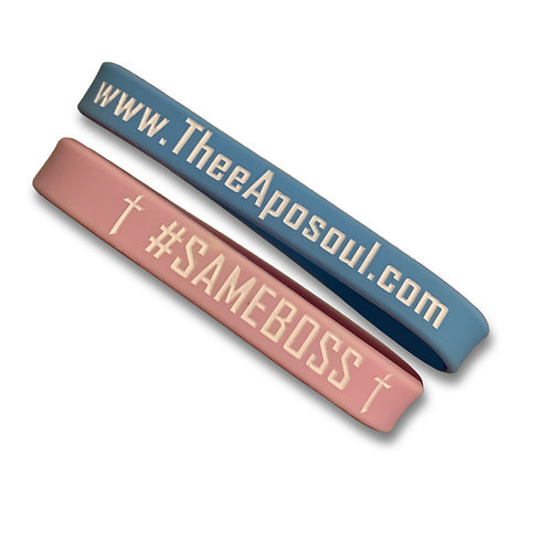 One (1) Same Boss Wristband