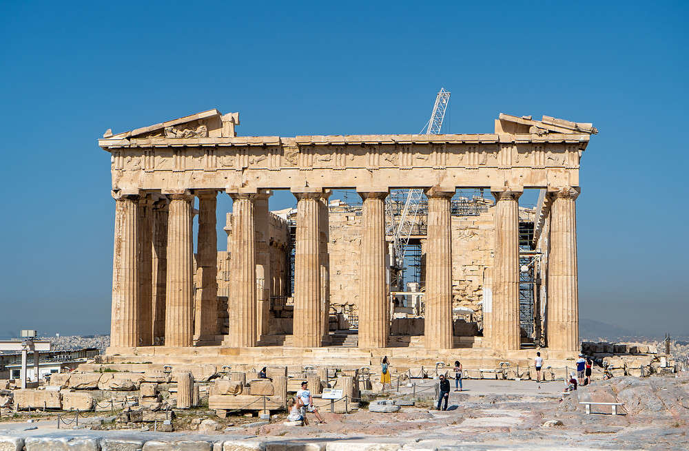 The 5th Century BC Athenian Temple ruins.