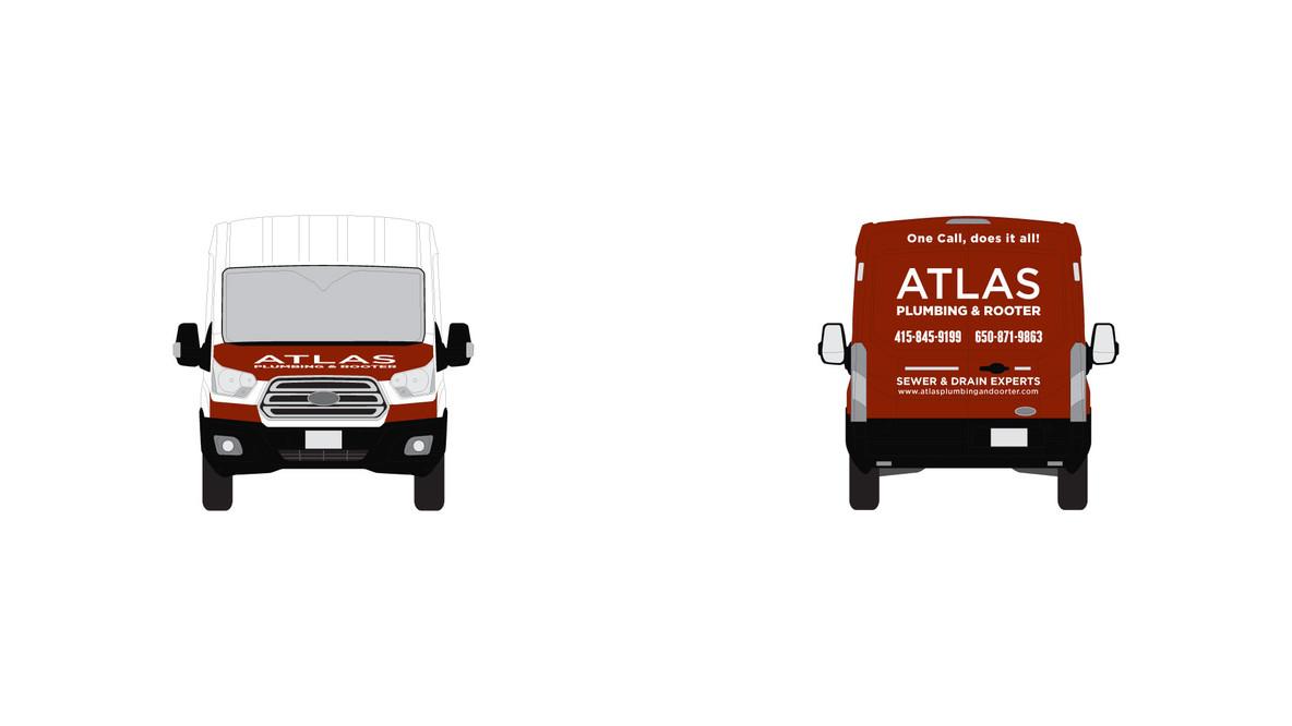 Graphic-Identity-van-wrap-atlas-plumbing