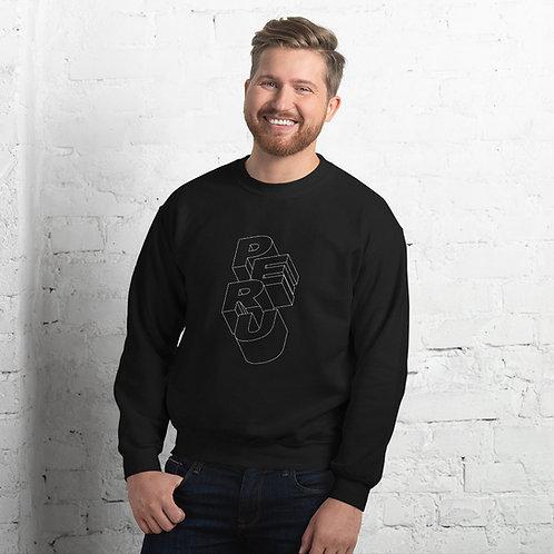 Unisex Sweatshirt Peru 3d BLCK