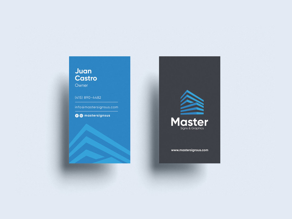 • Master Signs