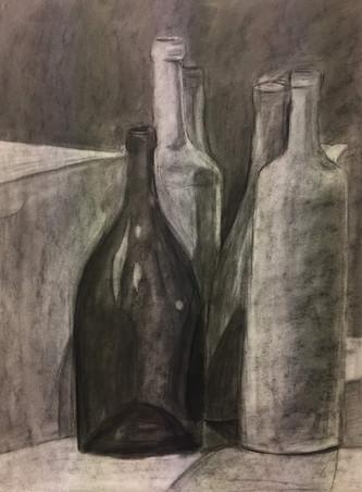 bottles still life