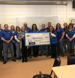 2019 Donation to Make-A-Wish CT