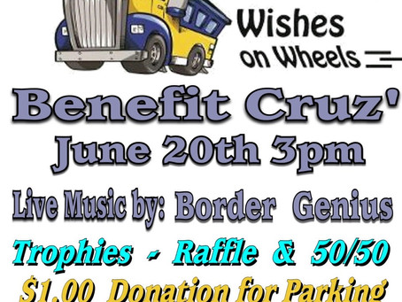 Take Your Dad to Wishes on Wheels Benefit Cruz