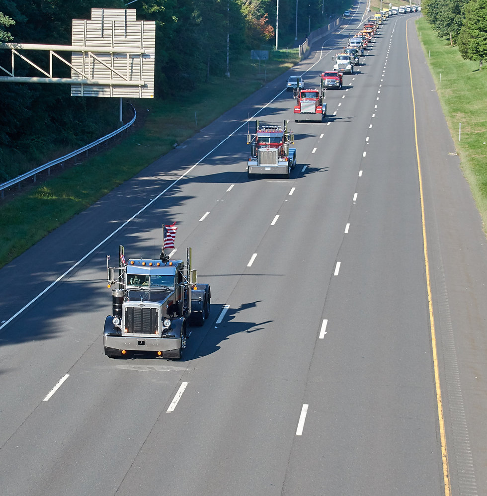 Photo of 2019 Convoy down the highway