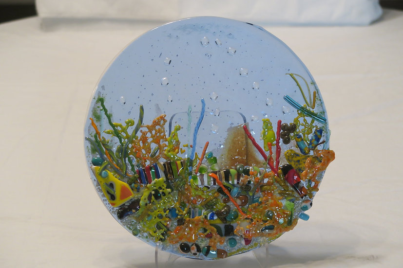 Under the sea coral by Malu