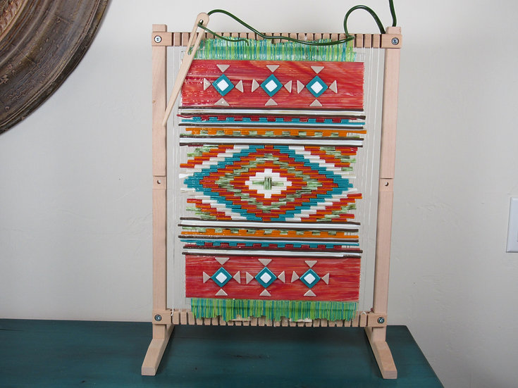 Southwest Magic carpet by Malu