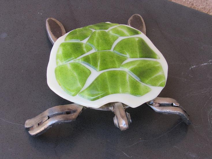 Horseshoe Green Turtle   by Malu Sold